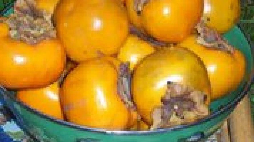 Sharonfruit. Gezond exotisch