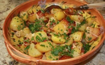 parmezaan aardappelen