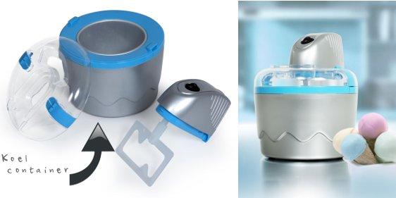 De handige Tristar ijsmachine voor thuisgebruik