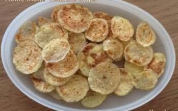 aardappelchips uit de magnetron