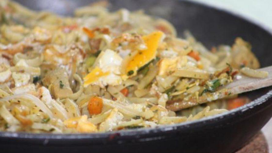Bami met volop verse groenten