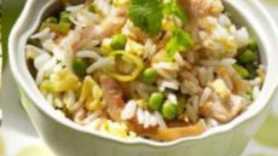 Nasi met kalkoen