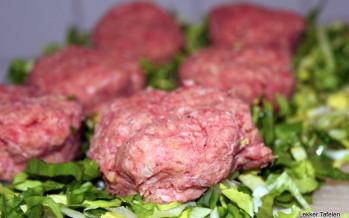 Pittig gekruide mini hamburgertjes