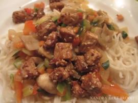 tofu uit de wok