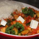 Vegetarische Rijstschotel | Pannetje vol verse groenten