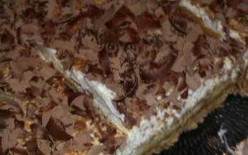 No Bake Bananen toffee taart met bastogne bodem