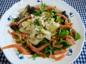 salade asperges