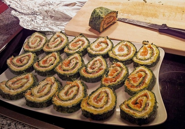 Een Luxe Keuken Die Lekker Leefbaar Is : Luxe zalmrol met spinazie en ...