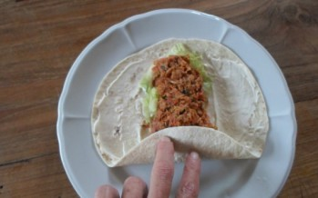 Mexicaanse tonijn wrap