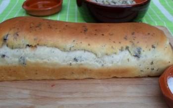 vers gebakken kabeljauwbrood