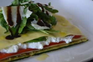 Open lasagne vegetarisch