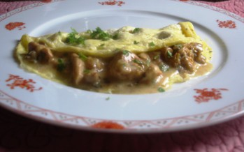 Omelet met cantharellen – Bosgevoel op je bord