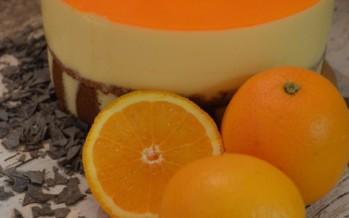 Sinaasappel bavaroise taart