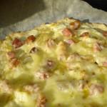 Flammkuchen: kaas'pizza' uit de Elzas met Gruyère