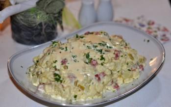 Echte Huzarensalade zelf maken.