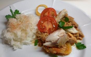 Surinaamse makreel, een makkelijk eenpansgerecht