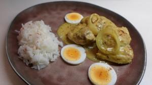 Indiase Mughal curry met cashewnoten