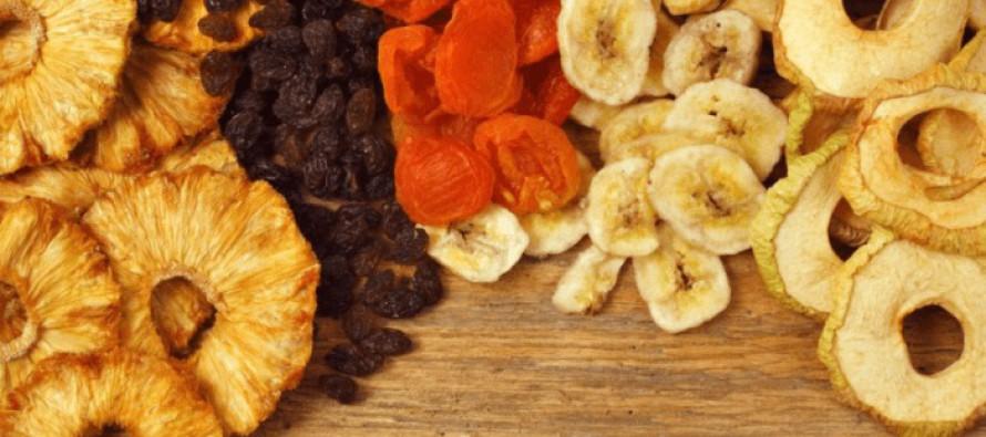 Gedroogd fruit; energie boost in de winter