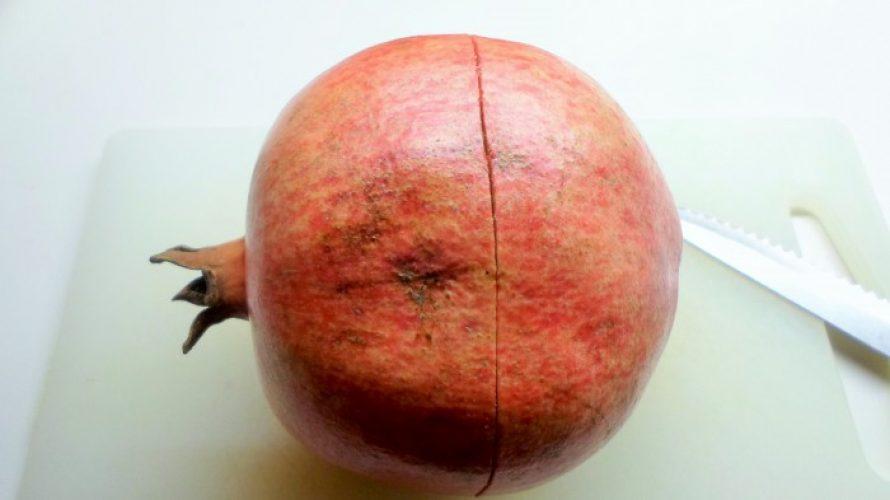 hoe schil je een granaatappel