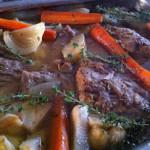 Lamsnek, slow slow cooking in de lente