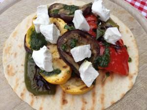 Larisse_Salade gegrilde groenten_tv_4