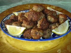 Libanese kip-pistacheballetjes