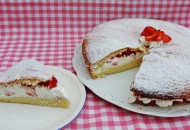 Winterse taart van witlof en prei