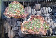Gemarineerde Knoflook Gamba's voor op de BBQ
