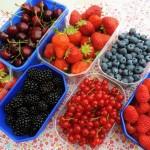 Zomerfruit, kleurrijk, lekker en gezond