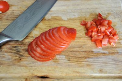 uittesten Santokumes op tomaat