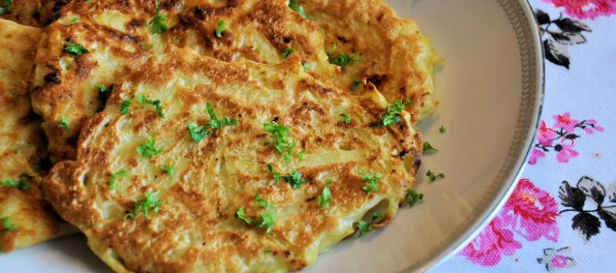 Aardappel koekjes bakken
