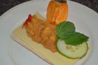 Kakifruit chutney