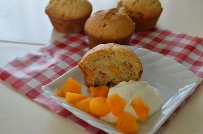 Kakifruit muffin