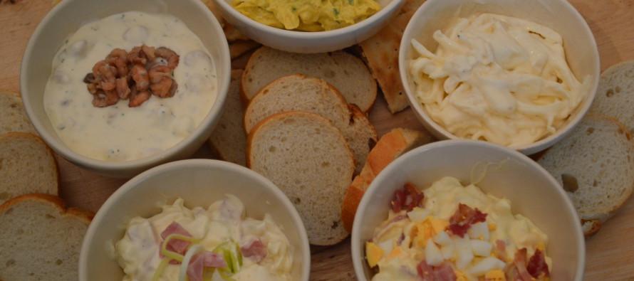 Salades voor op brood of een toastje