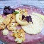 Geroosterde bloemkool met vadouvan mayonaise
