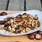 Spruitjes met druiven uit de oven – Een echte najaarstopper.