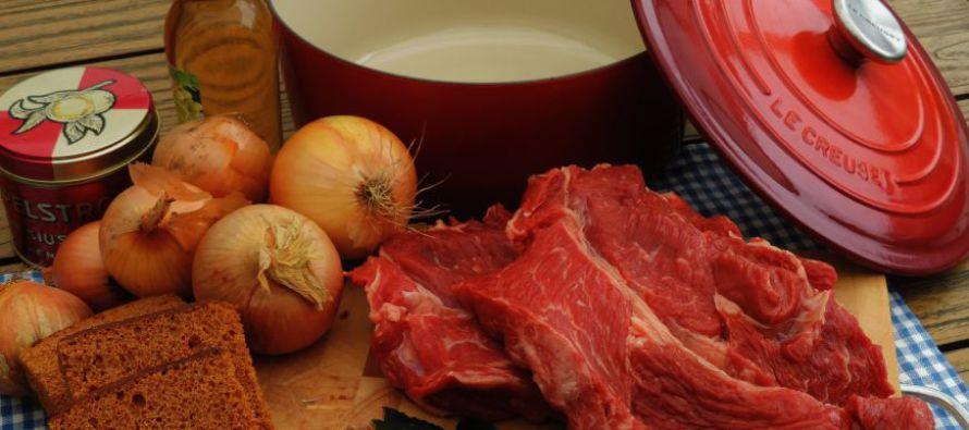 Limburgs zoervleisj; Streekgerecht uit Limburg