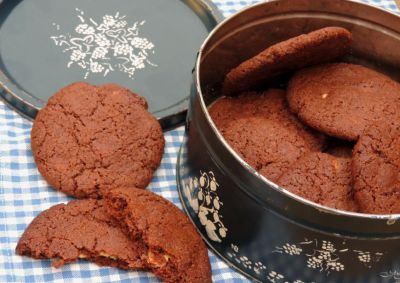 trommel choc cookie