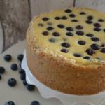Blueberry cheesecake – roomkaastaart met blauwe bessen
