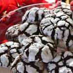 Chocolade crinckle cookies – een simpel koekje met een leuk effect