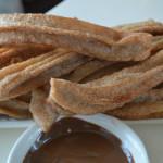 Churros een zoete snack bij de borrel