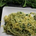 Spaghetti met boerenkool; Simpel superfood