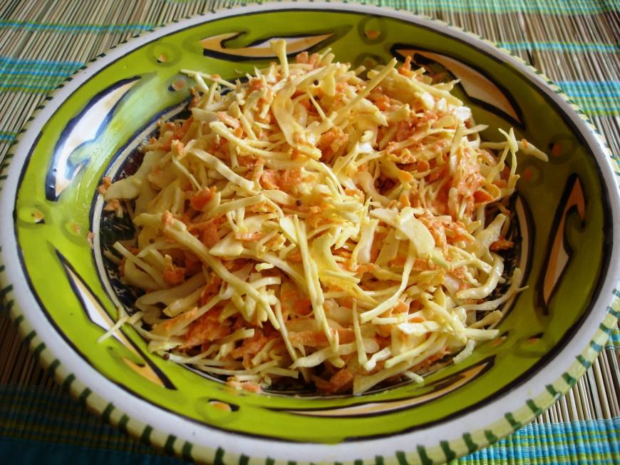 American coleslaw; salade voor de wintermaanden