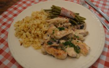 Zwitserse kipreepjes een variant op het Zürcher geschnetzeltes