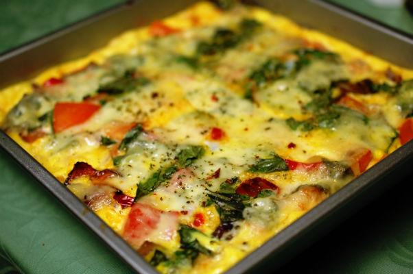 omelet uit de oven