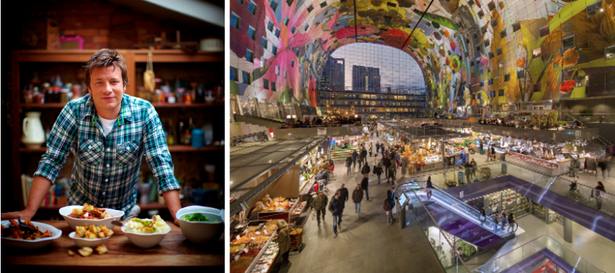 Jamie Oliver opent Italiaans restaurant in Markthal Rotterdam | Lekker ...: www.lekkertafelen.nl/nieuws/jamie-oliver-opent-italiaans-restaurant...