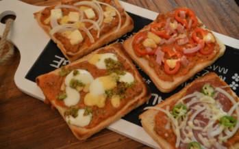 Pizzabroodjes, iedereen zijn eigen kleine pizza