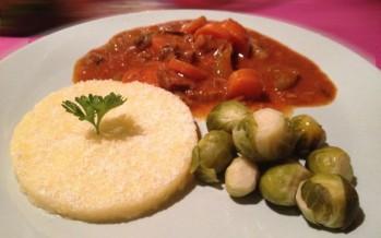 Italiaans stoofpotje met polenta