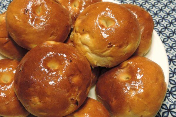 ontbijten - ricotta honig broodjes