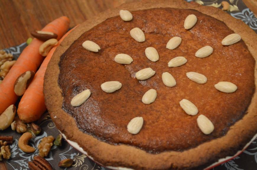 Wortel noten taart